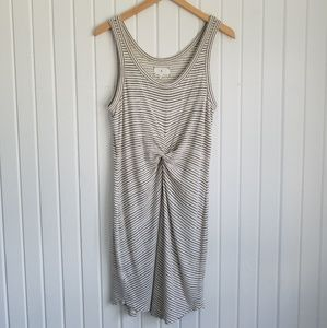 Lou & Grey Twist Front Knit Tank Dress Size M